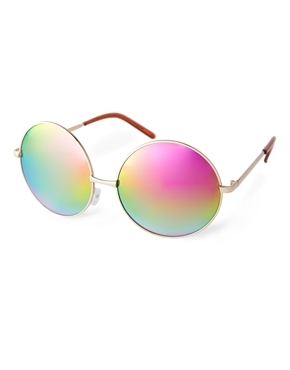 ASOS Oversized Metal Round Sunglasses Shop With Sally Sally Lyndley Fashion Stylist