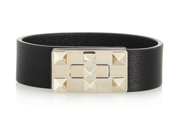 VALENTINO Rockstud leather bracelet Shop With Sally Sally Lyndley Fashion Stylist