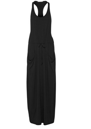 DAY BIRGER ET MIKKELSEN Hybriss racer-back stretch-jersey maxi dress Shop With Sally Sally Lyndley Fashion Stylist