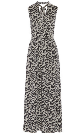SEA Leopard-print cotton and silk-blend maxi dress Shop With Sally Sally Lyndley Fashion Stylist