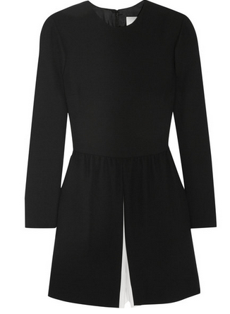 VALENTINO Silk-crepe playsuit Shop With Sally Sally Lyndley Fashion Stylist