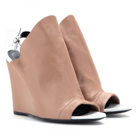 BALENCIAGA Glove leather wedges Shop With Sally Sally Lyndley Fashion Stylist