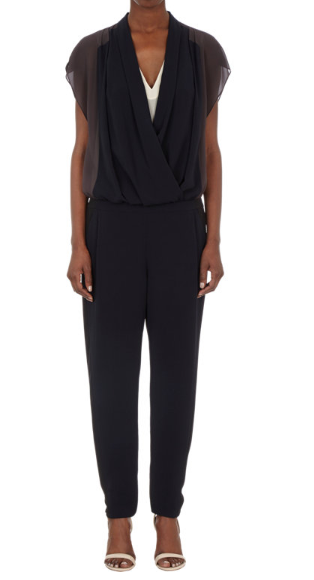 O'2ND Exclusively Ours Beryl Draped-Front Jumpsuit Shop With Sally Sally Lyndley Fashion Stylist