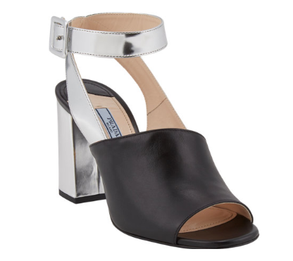 PRADA Crisscross Ankle-Strap Sandals Shop With Sally Sally Lyndley Fashion Stylist