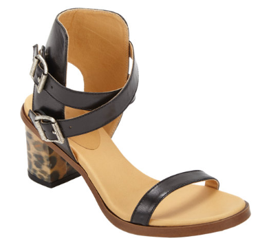 MM6 MAISON MARTIN MARGIELA Leopard Hologram Heel Sandal Shop With Sally Sally Lyndley Fashion Stylist