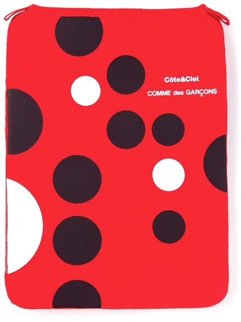 COMME DES GARÇONS spot iPad sleeve Lyndley Trends Sally Lyndley Fashion Stylist