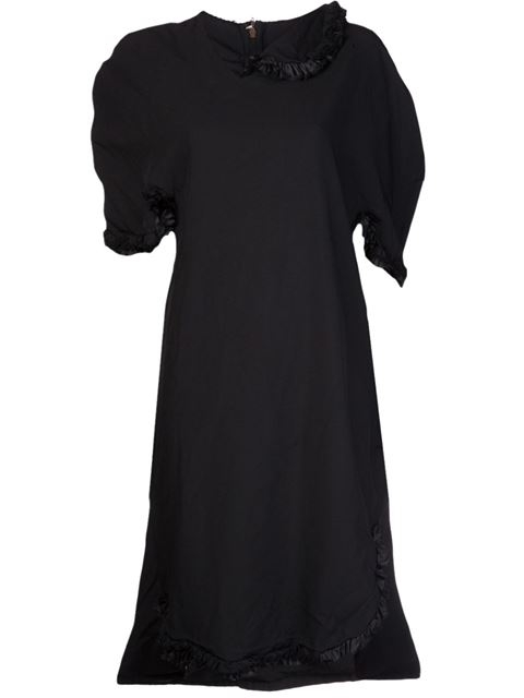 COMME DES GARÇONS ruffle trim dress Lyndley Trends Sally Lyndley Fashion Stylist