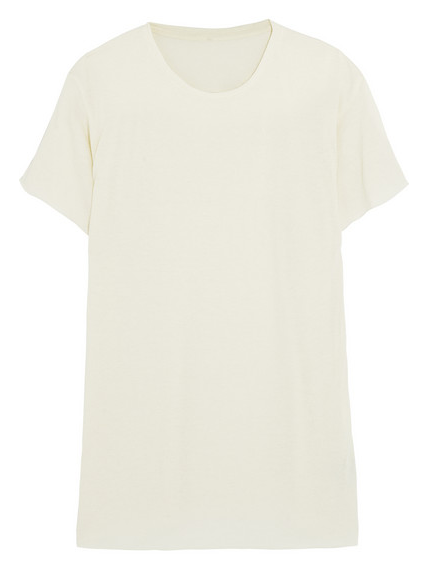 THE ELDER STATESMAN Favorite cashmere and silk-blend T-shirt Shop With Sally Sally Lyndley Fashion Stylist
