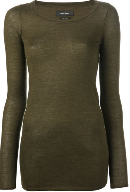 ISABEL MARANT fitted top Shop With Sally Sally Lyndley Fashion Stylist