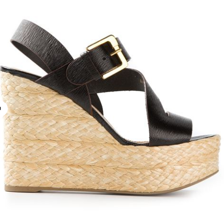 SERGIO ROSSI platform wedge sandals Shop With Sally Sally Lyndley Fashion Stylist
