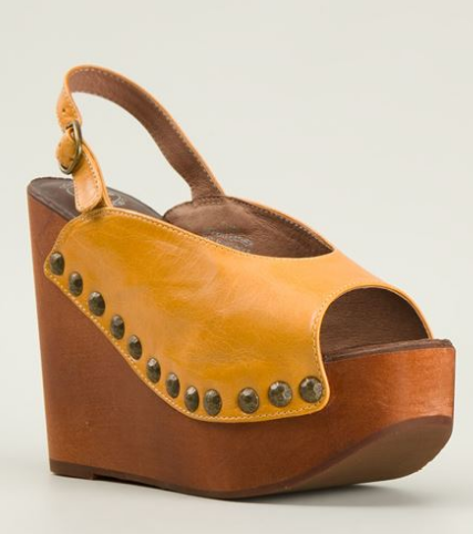 JEFFREY CAMPBELL slingback wedge sandals Shop With Sally Sally Lyndley Fashion Stylist