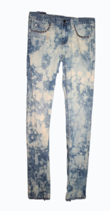 BLEACH SPLOTCH -BLUE JEANS Shop With Sally Sally Lyndley Fashion Stylist