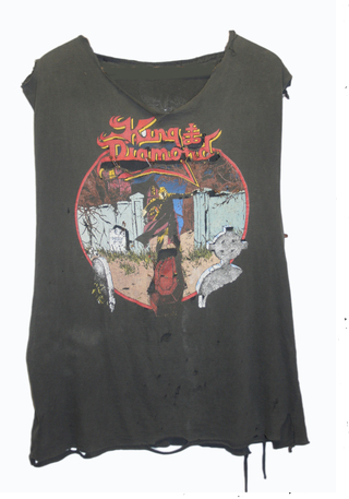 KING DIAMOND VINTAGE T-SHIRT Shop With Sally Sally Lyndley Fashion Stylist