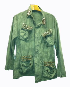 STUDDED SURPLUS JACKET Shop With Sally Sally Lyndley Fashion Stylist