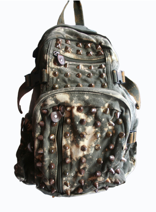 BLEACH OLIVE DRAB CANVAS BACKPACK Shop With Sally Sally Lyndley Fashion Stylist