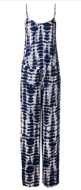 HAUTE HIPPIE tie-dye jumpsuit Shop With Sally Sally Lyndley Fashion Stylist