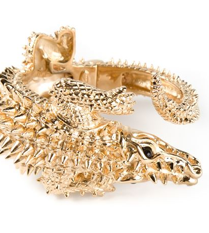 GIUSEPPE ZANOTTI DESIGN crocodile bracelet Shop With Sally Sally Lyndley Fashion Stylist