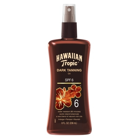 Hawaiian Tropic Dark Tanning Oil SPF 6 Sally Lyndley Beauty