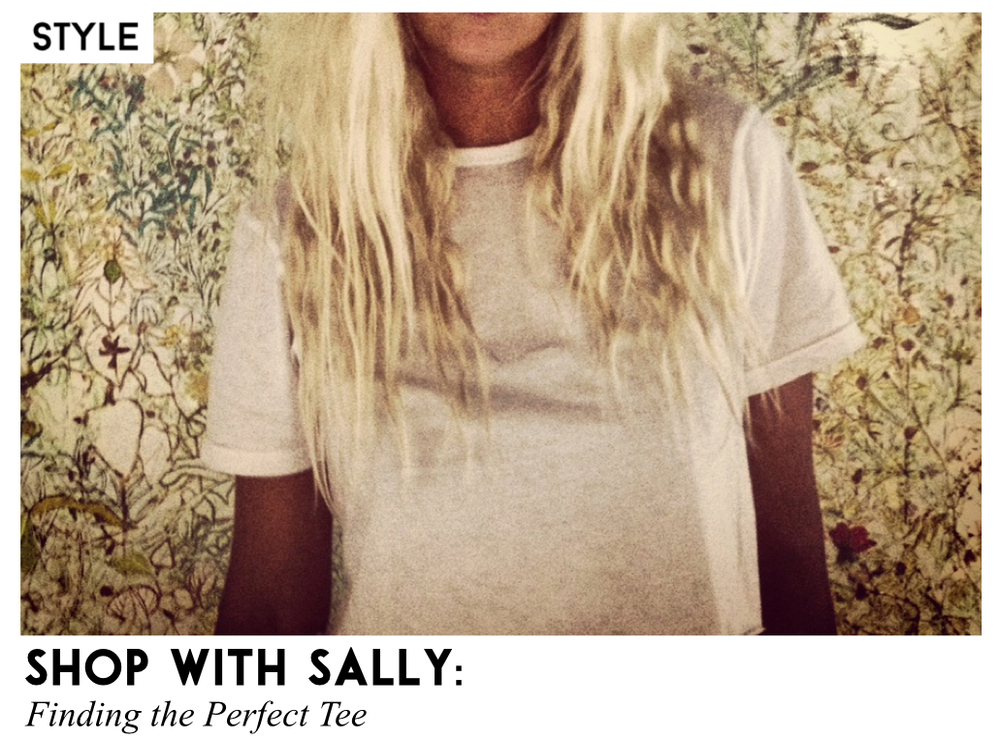 Finding the Perfect Tee Sally Lyndley