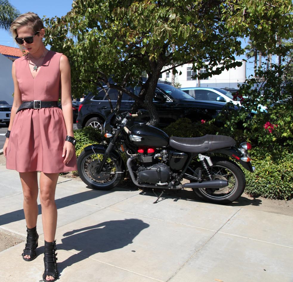 Victoria Beckham Dress Sally Lyndley Street Style