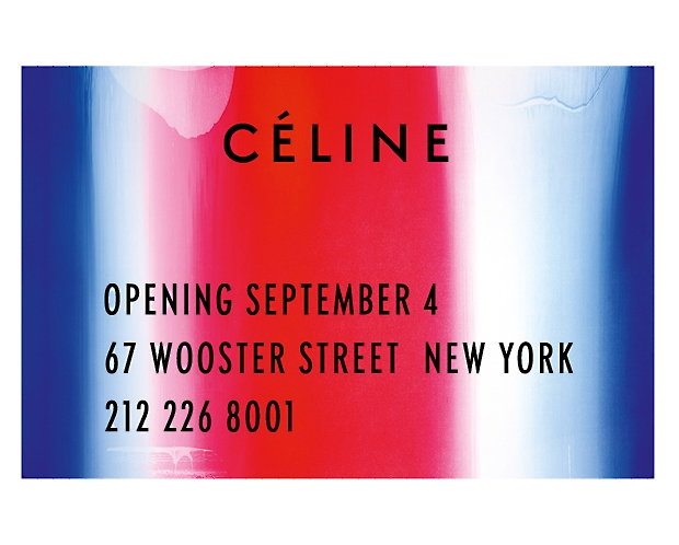 Celine Wooster Street Store OPening