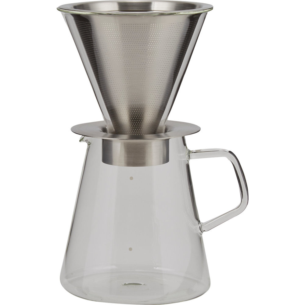 Kinto Carat Coffee Dripper & Pot $70