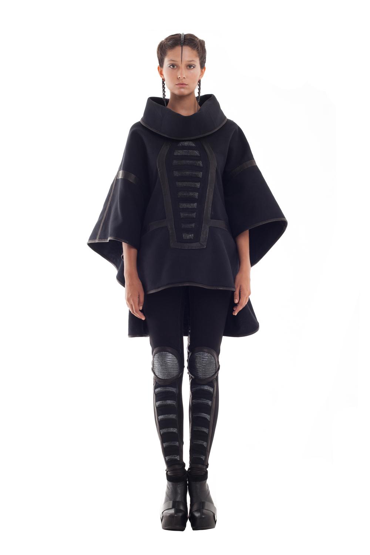 Orion Coat & Cap Knee Leggings