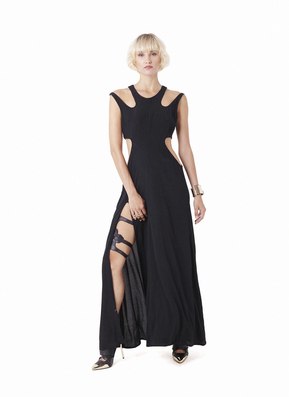 Falline dress & Spar Legpiece