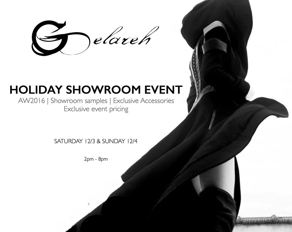 A RENDEZ-VOUS FOR WILD SPIRITS & UNTAMED FASHION LOVERS Please come and spend the weekend with us and our AW2016 collection at our San Francisco showroom. Enjoy champagne and refreshments, try on our limited edition AW coats & dresses, showroom samples and exclusive accessory pieces immediately available at special event pricing as well as tailored, made-to-order pieces.
