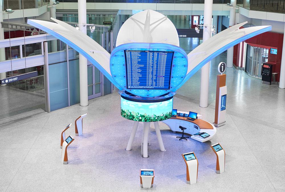 GTAA Terminal One Kiosk