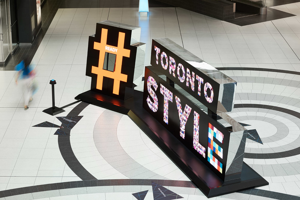 Toronto Style Digital Interactive Sculpture