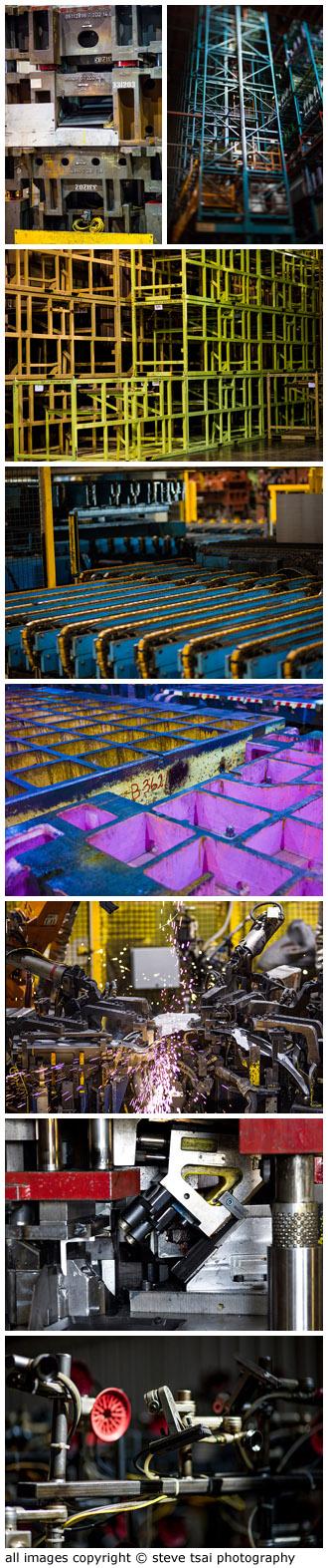 auto-manufacturing plant