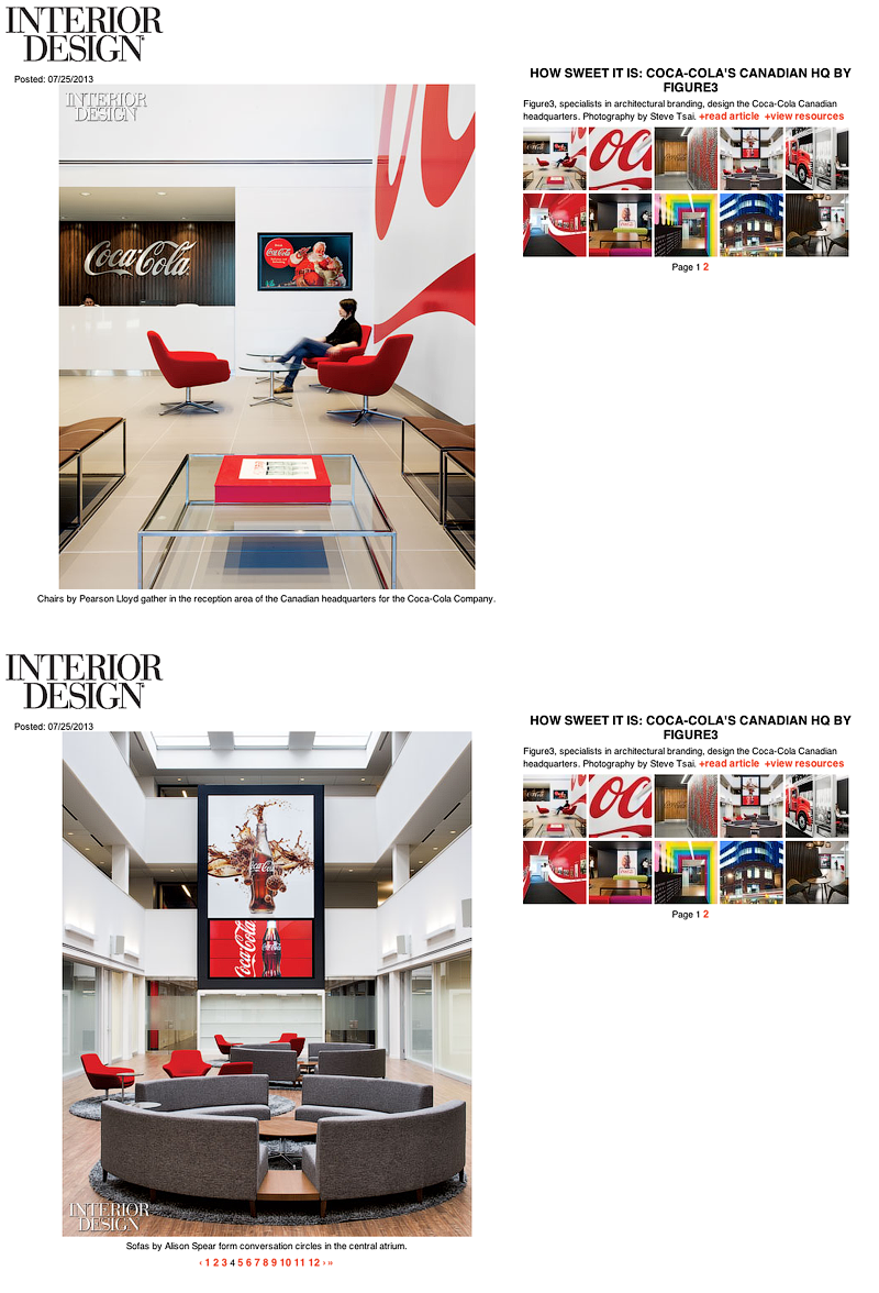 coca-cola interior design