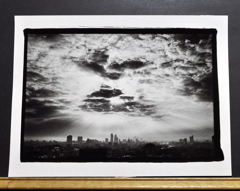 """City Awakening - Cameron Maynard 2004,    Edition of 30 :  3[24"""" x 36""""] & 27[12"""" x 16""""]"""