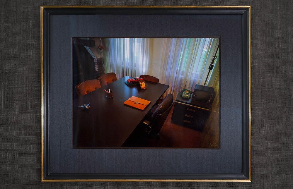 Enzo Ferrari's Desk, 2014