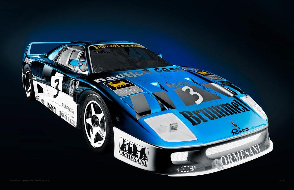 1987 Ferrari F40GT