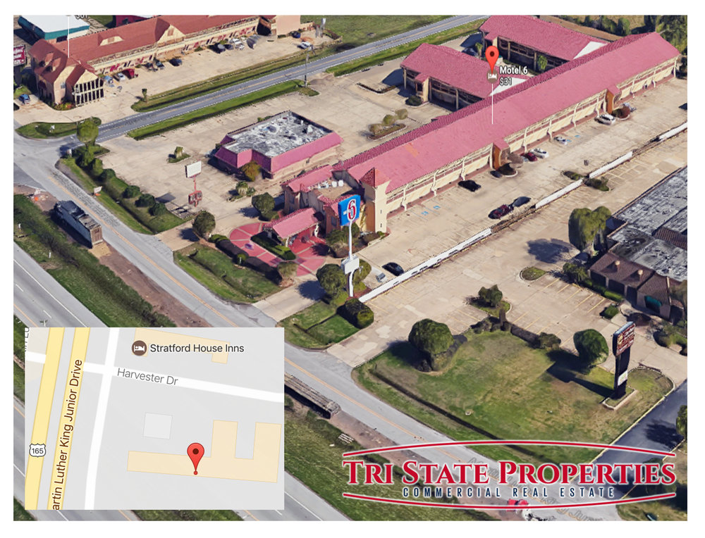 Motel 6 Monroe Commercial Real Estate | Tri State Properties Ryan Roark