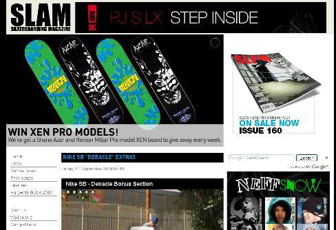Slam Mag Site