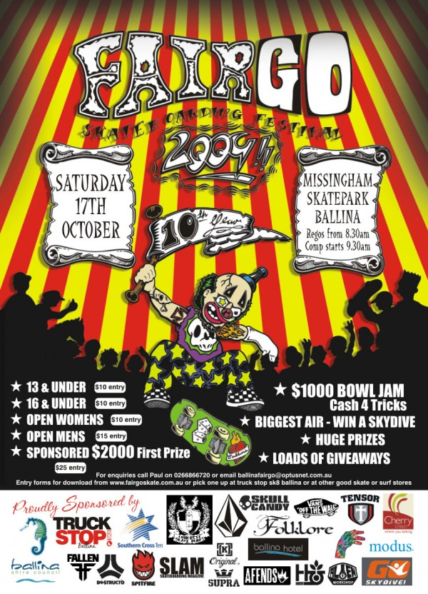 Fair Go Skateboard Festival