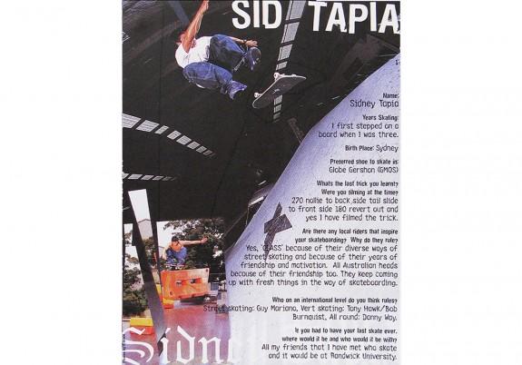 Sid Tapia Profile