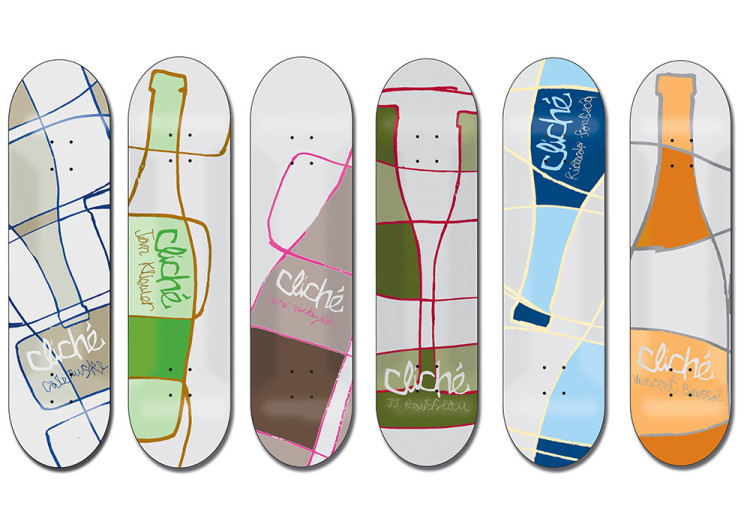 Cliche Skateboards - Bottles Series