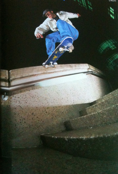 Noseslide, World Trade Center, Sydney.