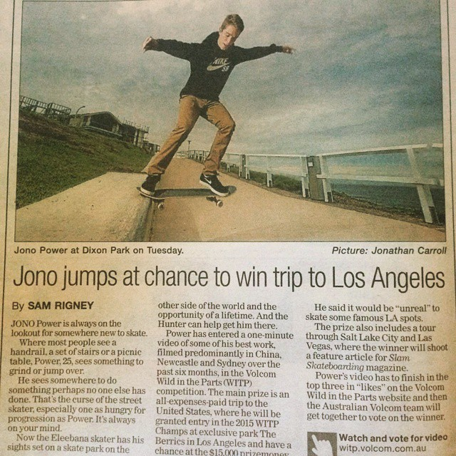 @_jopo in the Newy Hearld today. Follow link on our bio to watch the clip and give it a like.