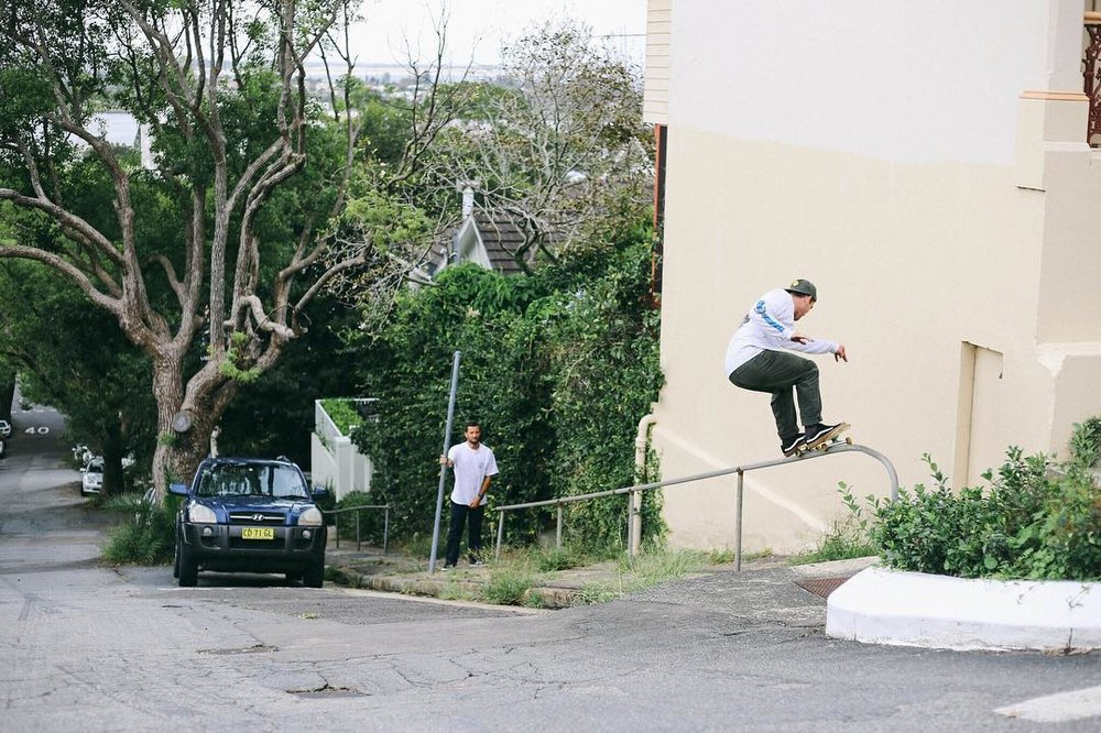 Simon Lyddiard, Brown St, The Hill, Newcastle. Photo:  @lukejodonnell