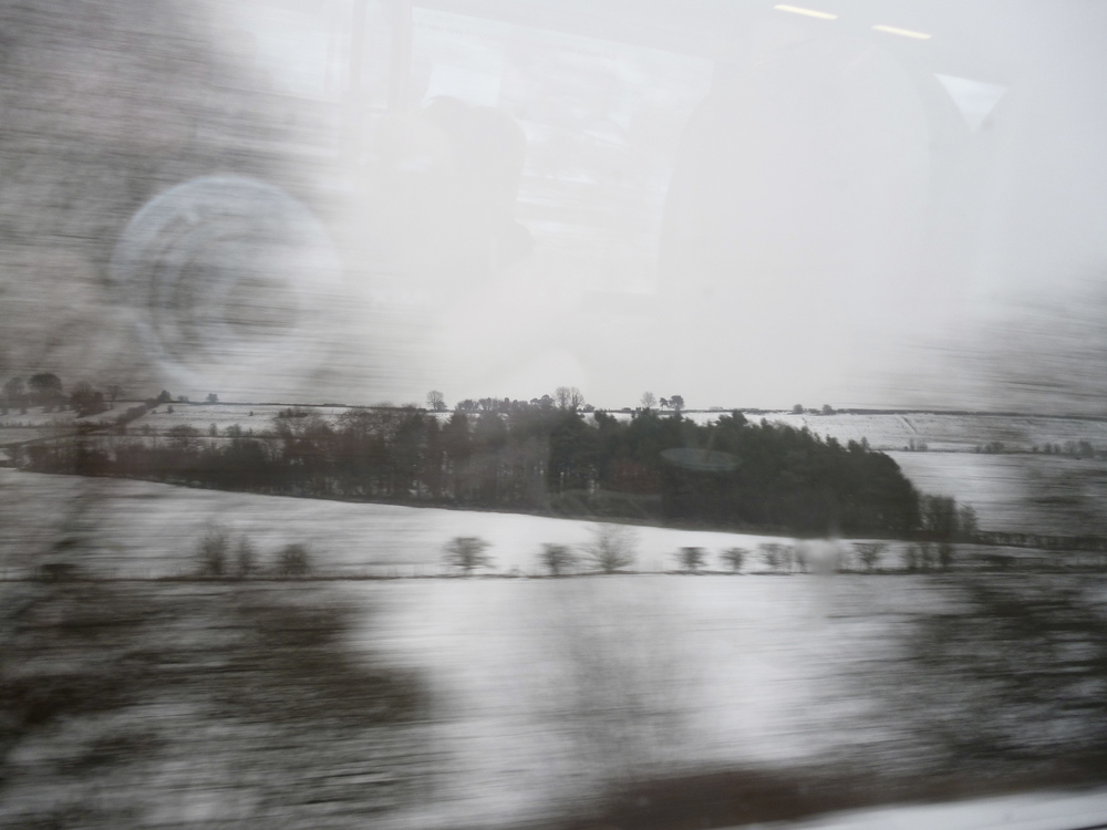 on the train, February 2012