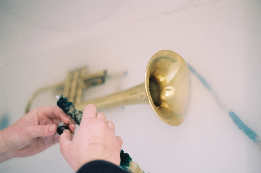 trumpet cleaning, feb '15