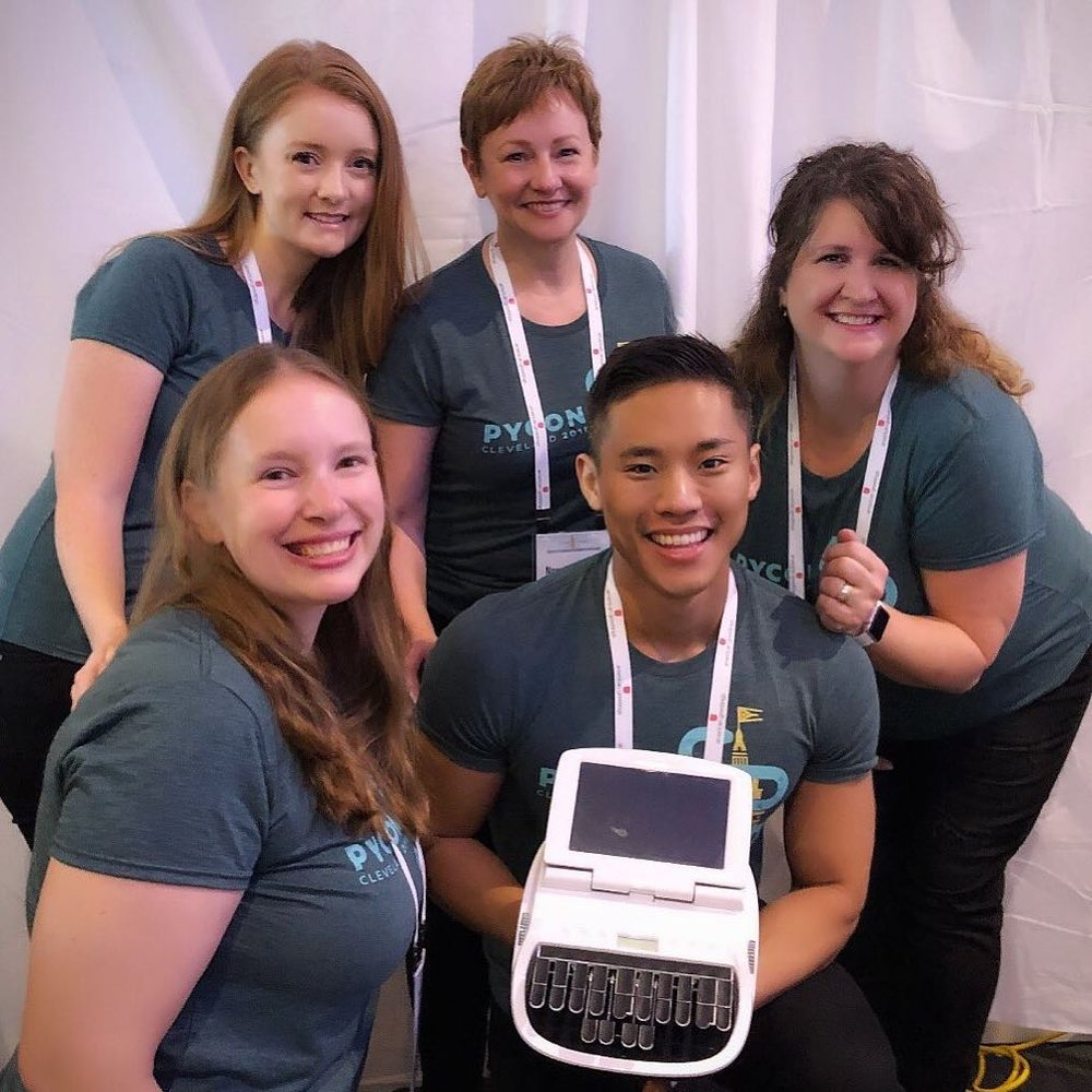 White Coat Captioning Team at PyCon2018