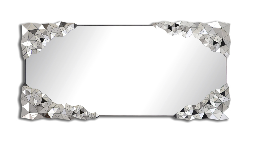 STELLAR Rectangular Mirror by Jake Phipps