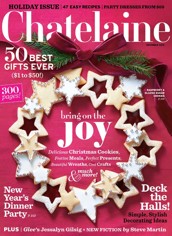 Chatelaine Covers Laurie Jennings