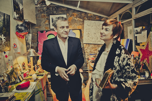 JC De Castelbaljac and Karina Dobrotvorskaya